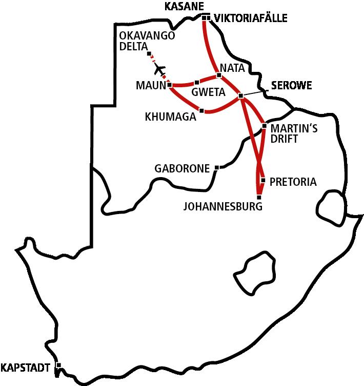 Klassisches Botswana