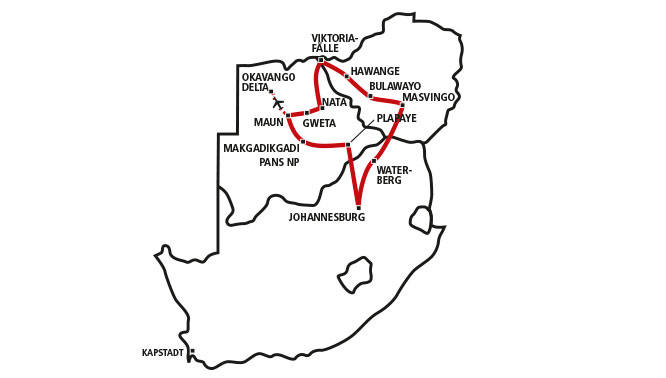 Botswana & Zimbabwe Combo