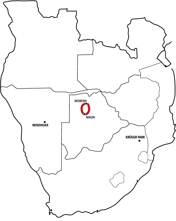 Drifters Camping Safari Botswana