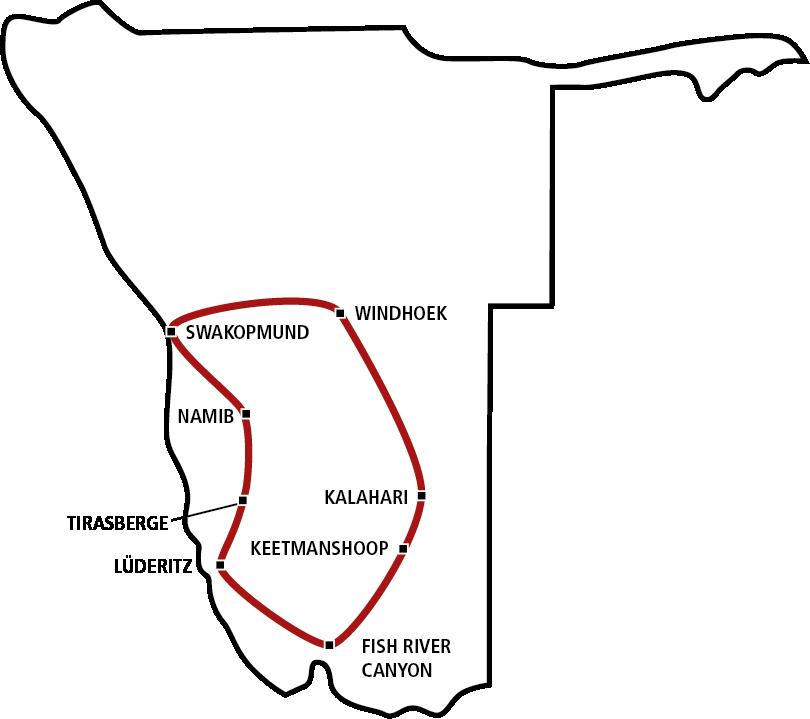 Namibias Süden
