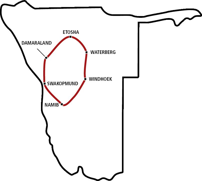 Family Tour Namibias Norden