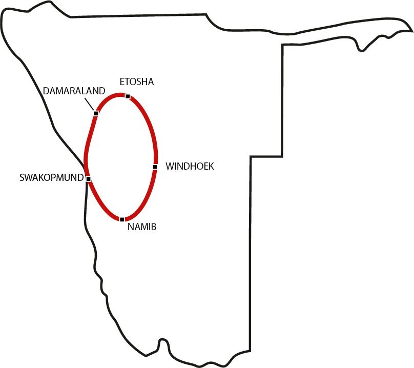 Drifters Namibia Camping