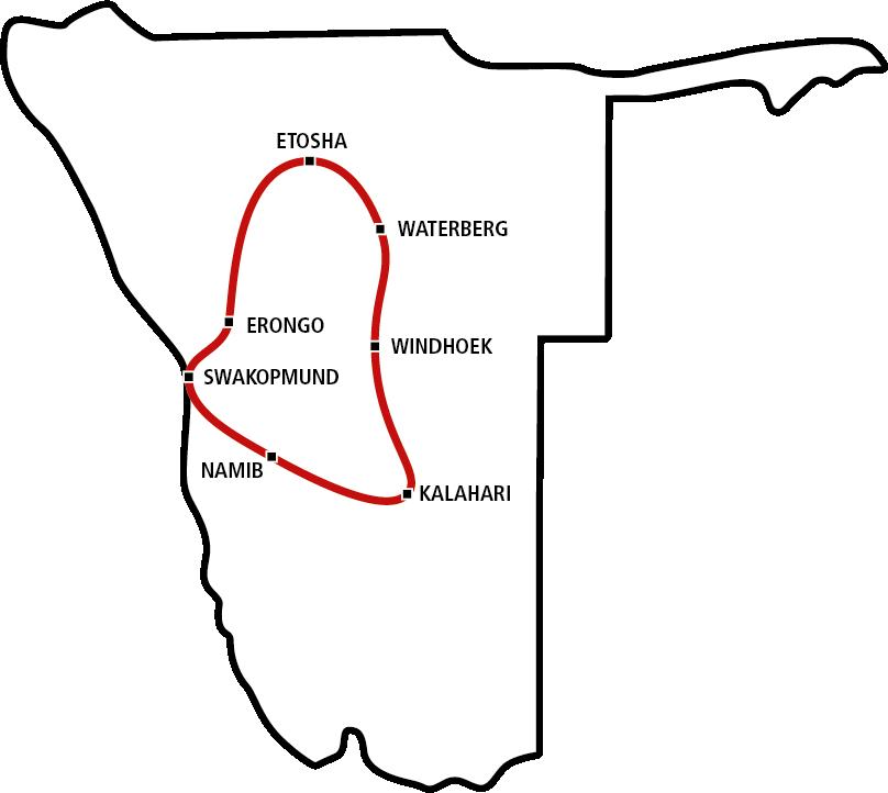 Namibias Norden