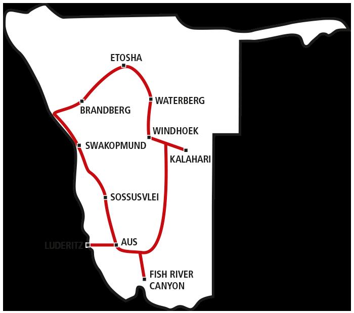 Drifters Namibia Tour