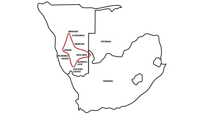 Namibias Süden – Desert & Game