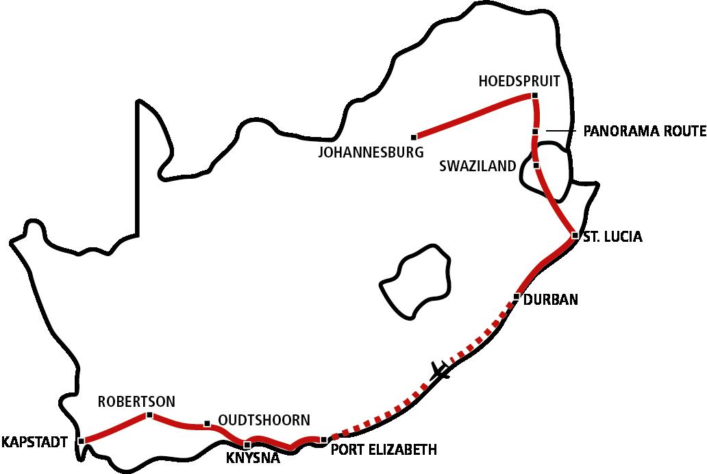 Südafrika Star 2020 (Jan-Apr)