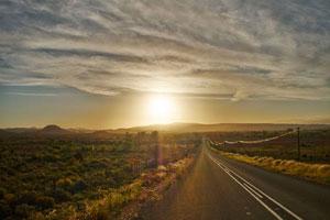 Kleine Karoo Halbwüste