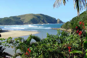 Port St. Johns an der Wild Coast