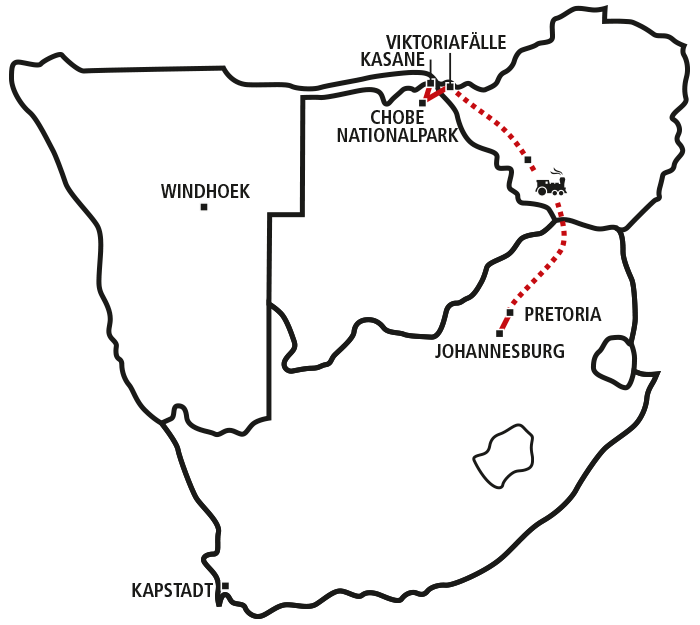 Rovos Rail, Vic Falls & Big Five