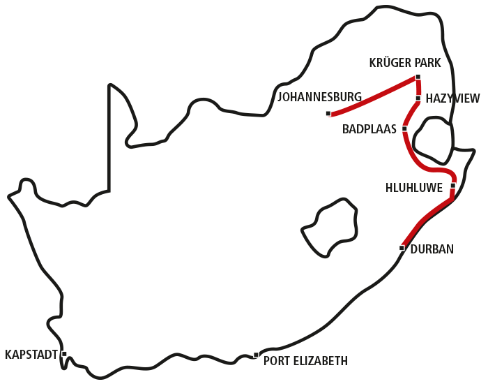 Südafrikas Norden für Genießer