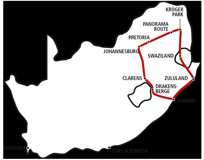 Südafrikas Zauberhafter Norden