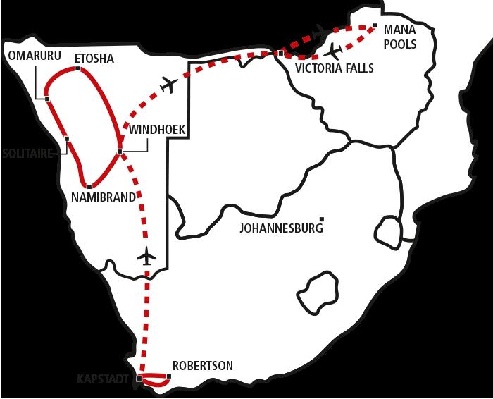 Chefs Choice: Nadine im südlichen Afrika