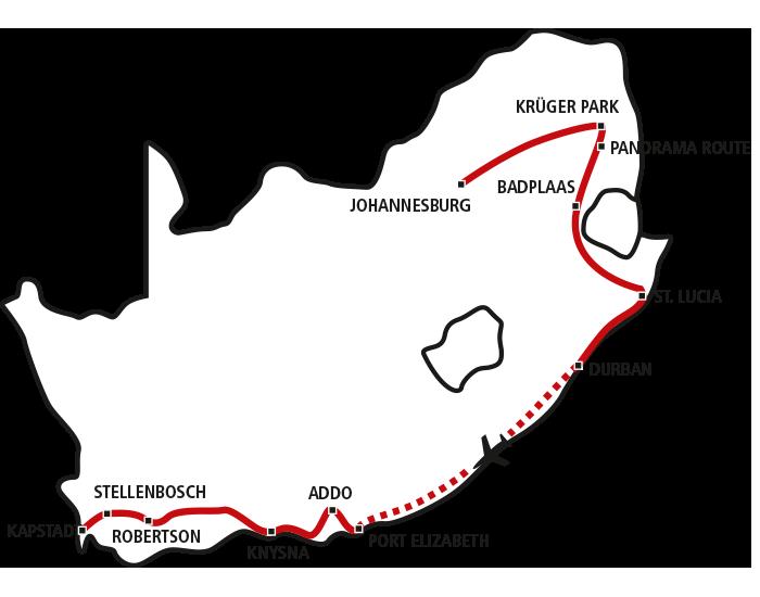 Südafrika für Genießer Star
