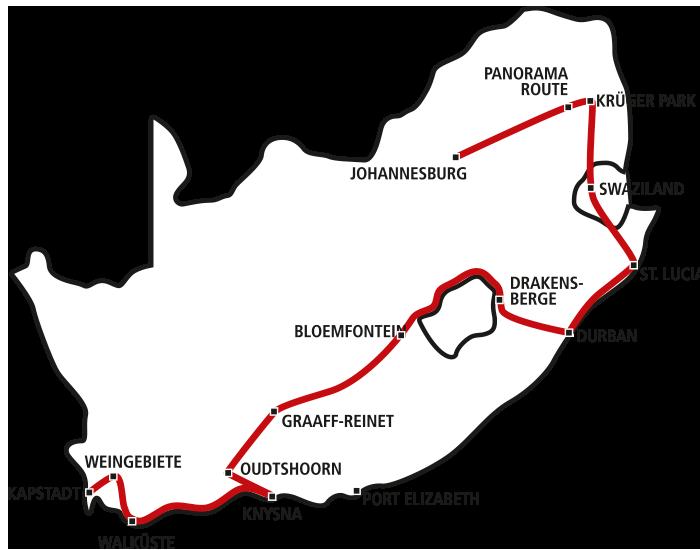 Facettenreiches Südafrika