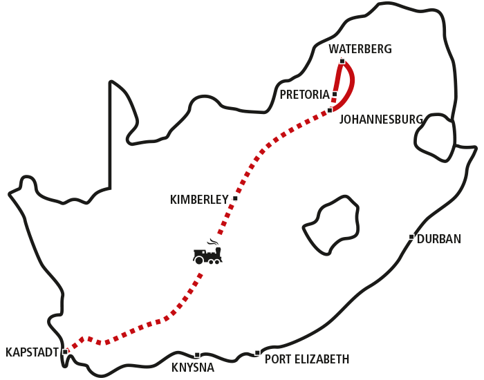 Cape Town, Rovos Rail & Big Five
