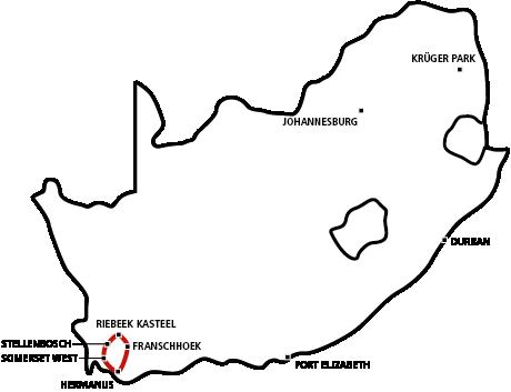Süd-Afrika Magazin Mietwagen Weinreise