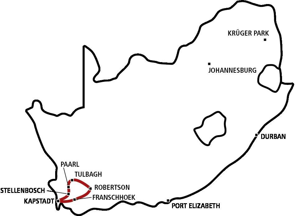 Süd-Afrika Magazin Weinreise