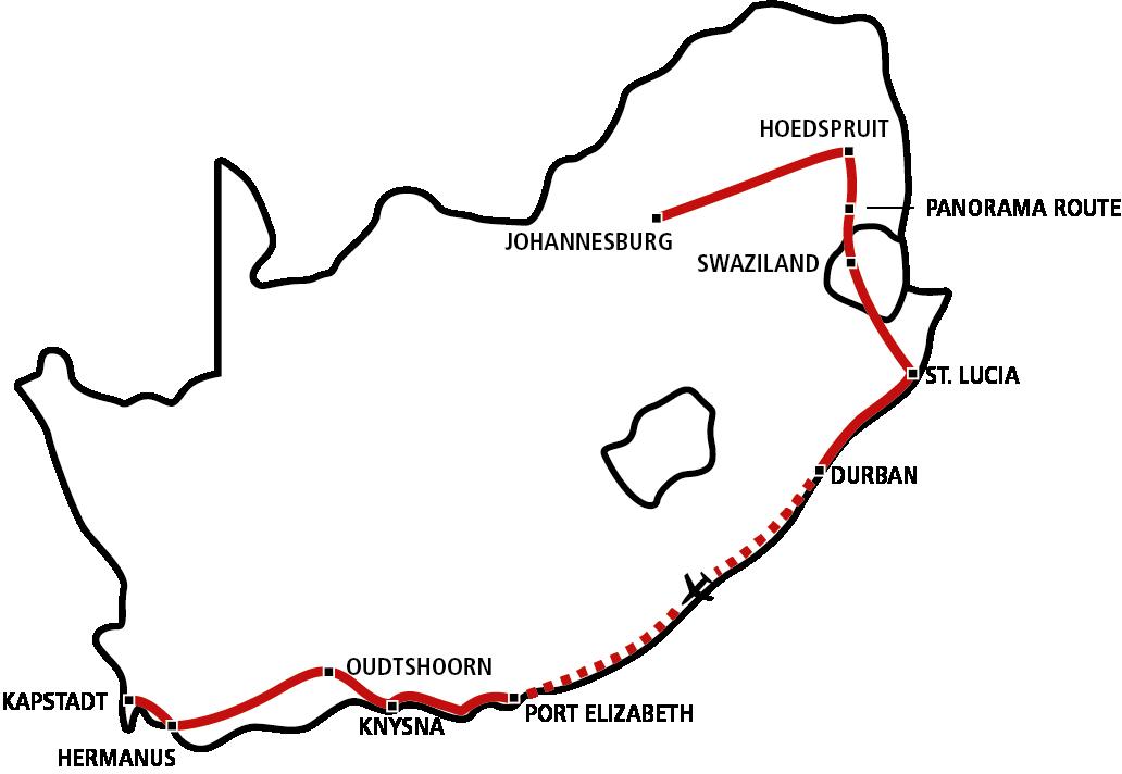Südafrika Star 2020 (Sep-Dez)