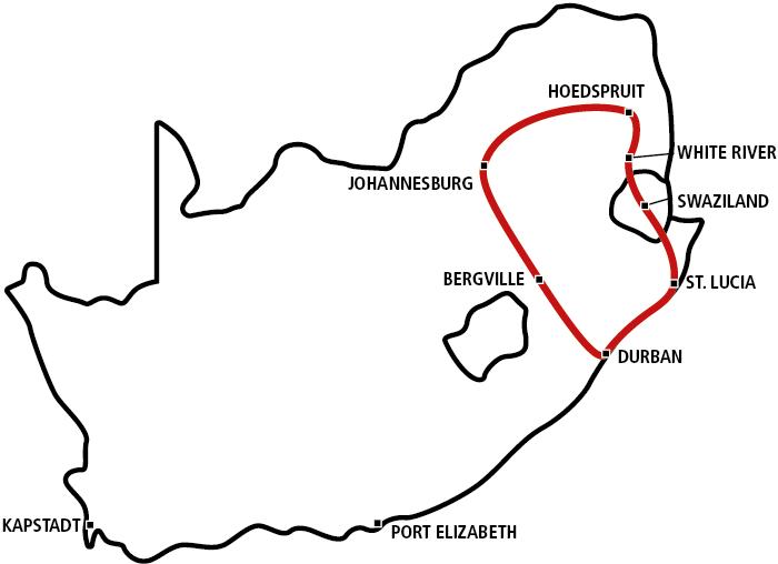 Krüger Park & Zululand Star 2020
