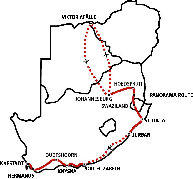 Südafrika & Vic Falls Star 2020