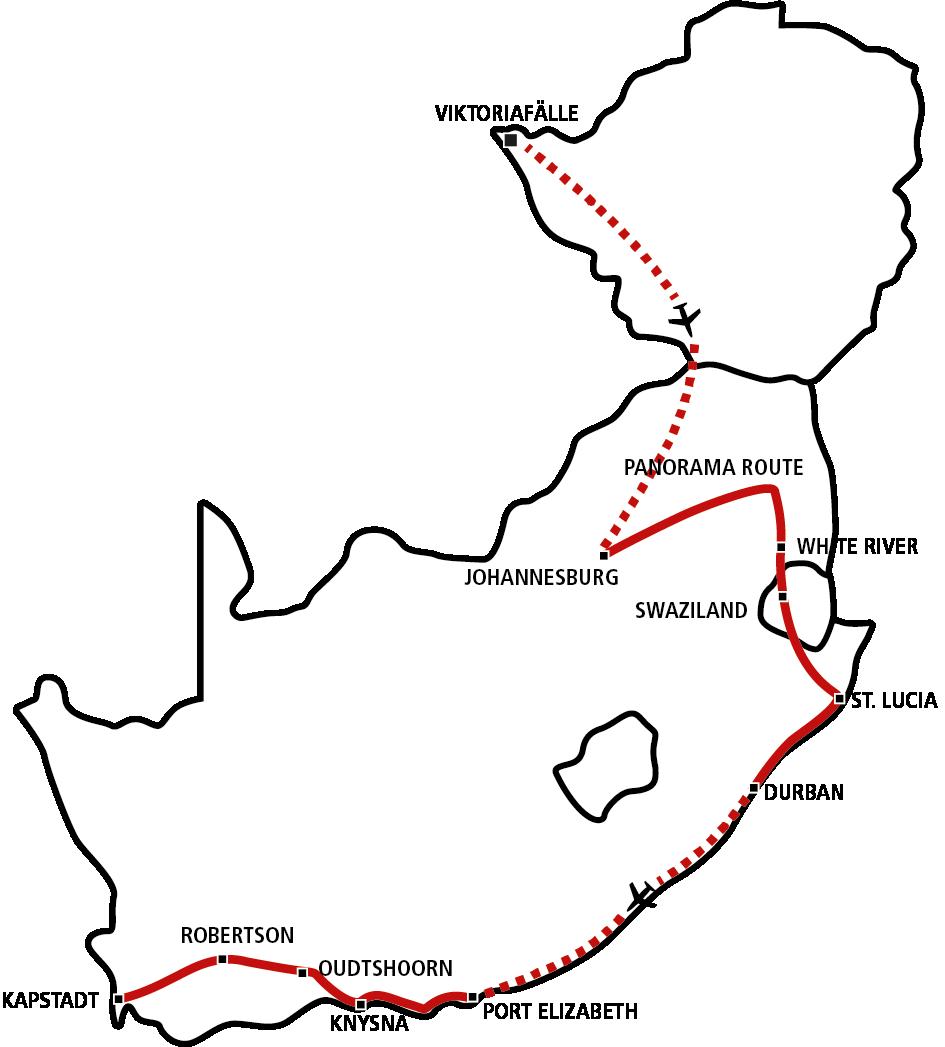 Südafrika & Vic Falls Star 2021 (JAN-APR)