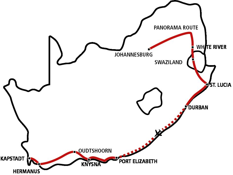 Südafrika Star 2021 (AUG-NOV)