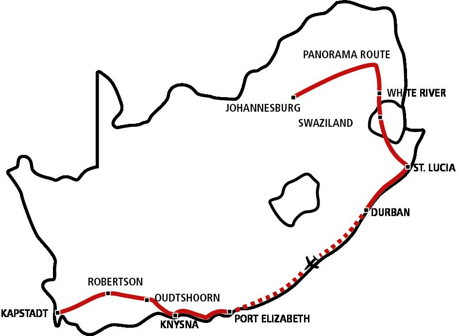 Südafrika Star 2021 (Jan-Apr)