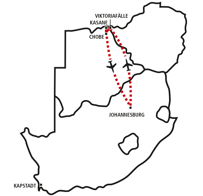 Victoria Falls & Chobe