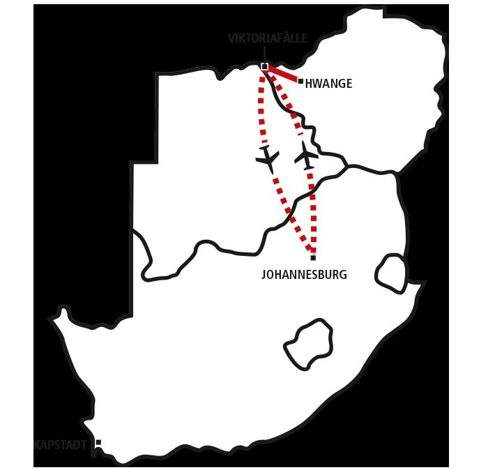 Victoria Falls & Hwange